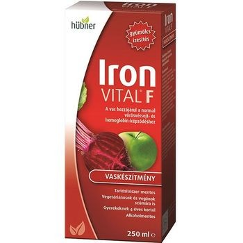 IRON VITAL F HÜBN.SZIR.250ML
