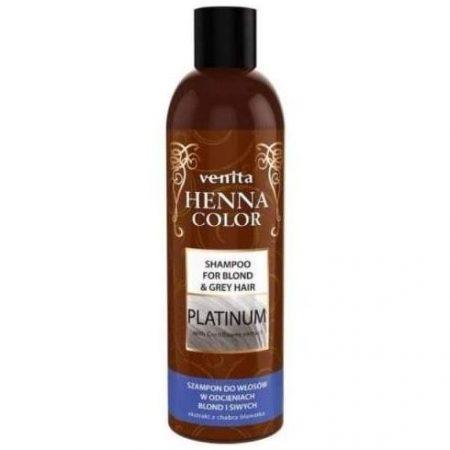 Henna Sampon szőke, ősz hajra