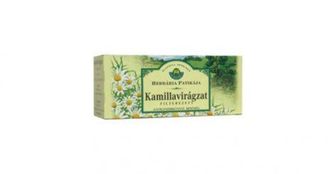 Kamillavirágzat filteres tea