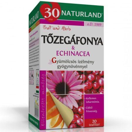 Tőzegáfonya & Echinacea tea