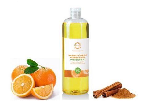 Narancs-Fahéj Masszázsolaj