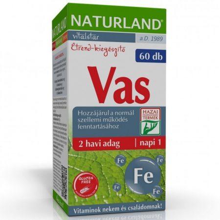 Vas Tabletta 60x Naturland
