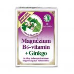 Magnézium+B6+Ginkgo Dr.Chen