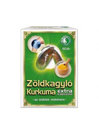 ZÖLDKAGYLÓ KURKUMA EXTR.60X