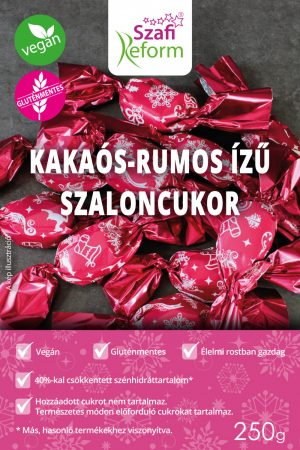 KAKAÓS-RUMOS SZALONCUKOR 250G