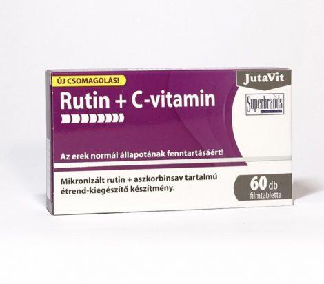 JUTAVIT RUTIN+C-VITAMIN FTBL.60X