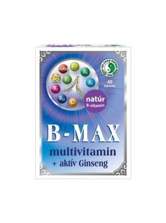 B-MAX MULTV.+ACTIV GINSENG 40X